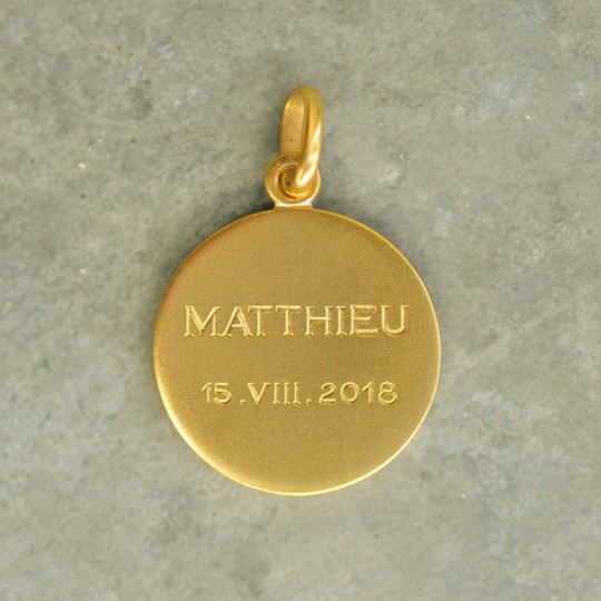 Prénom + Date en Chiffres romains (mois)