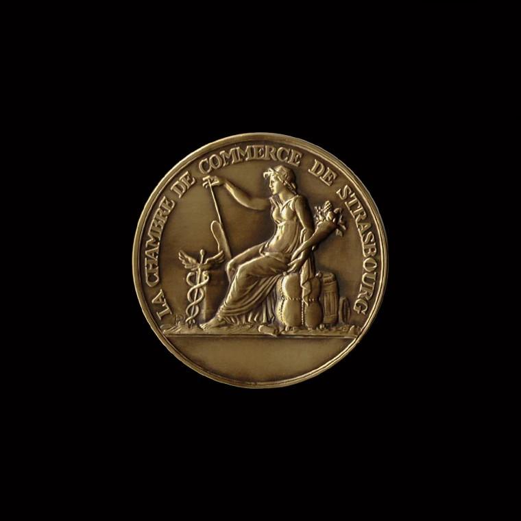 Chambre de commerce strasbourg collection g n rale m dailles d 39 art bronze m dailles canale - Chambre du commerce strasbourg ...