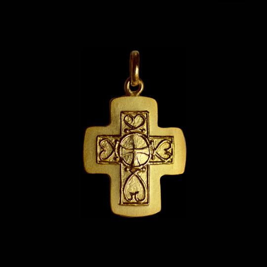 Croix Merovingienne