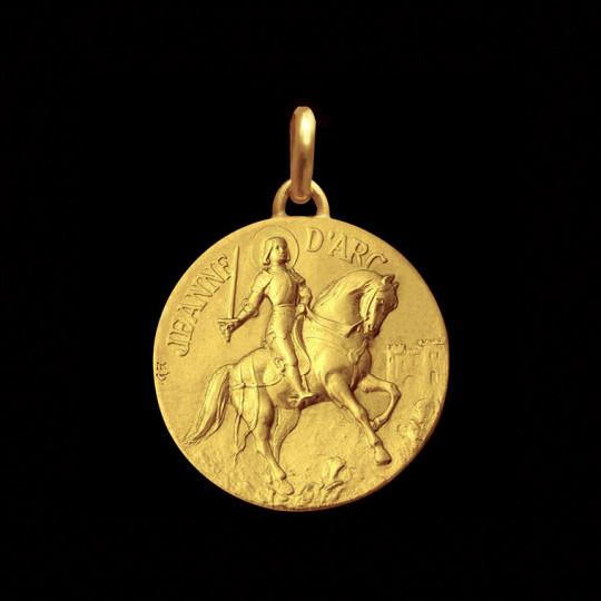 médaille Jeanne d Arc