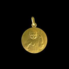 medaille bapteme jesus