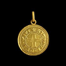 Médaille de Bapteme or