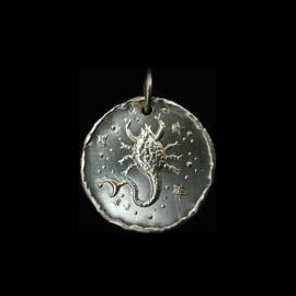 pendentif zodiaque scorpion