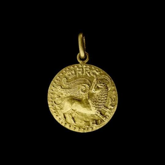 medaille de bapteme st marc