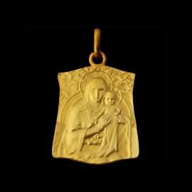 Vierge àl'enfant au chapelet