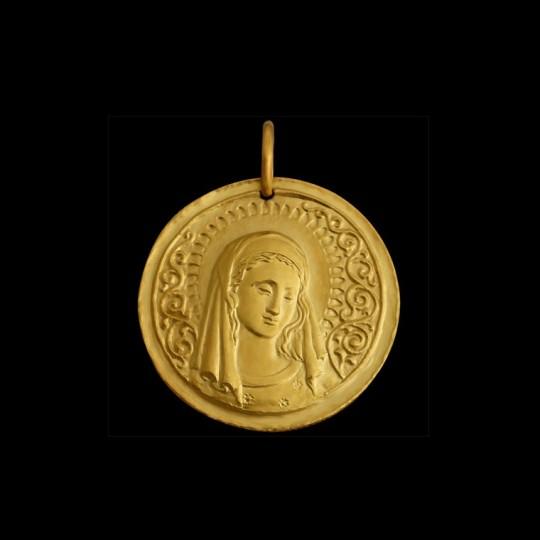 Vierge en or
