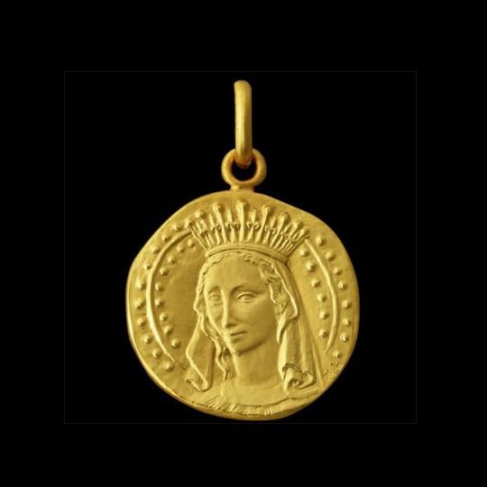 médaille de bapteme vierge