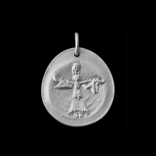 medaille bapteme Vierge Radieuse