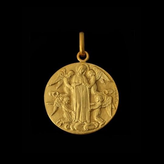 Assomption aux quatre anges or