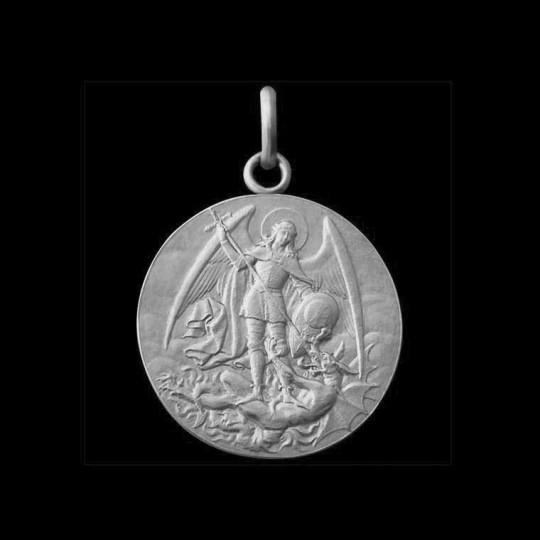 Médaille Baptême St Michel