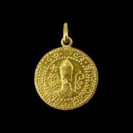 medaille de bapteme st Nicolas