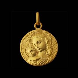 medaille de bapteme vierge