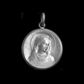 Medaille de bapteme Ave Maria