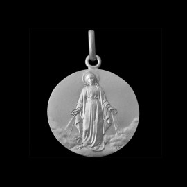 Medaille bapteme Vierge Miraculeuse