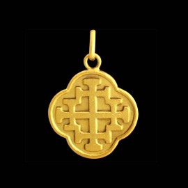 Croix Jérusalem quadrilobé 1