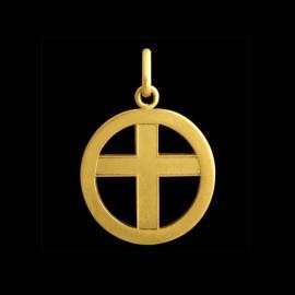 Médaille croix ajourée