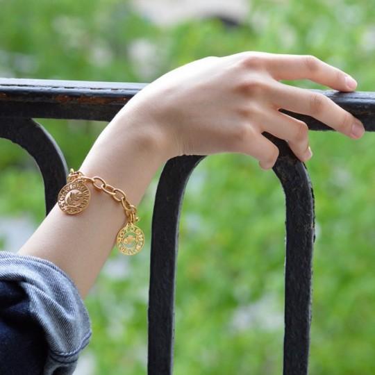 Bracelet maille ronde 2 mm