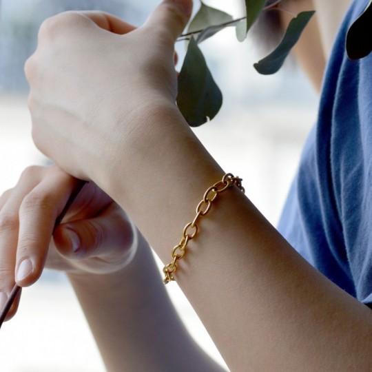 Bracelet maille ronde 1,5 mm