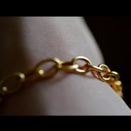 Bracelet maille ronde 2,5 mm