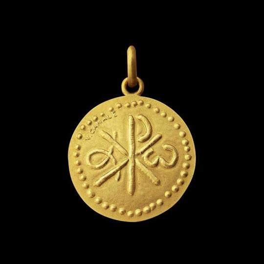 Médaille Baptême Chrisme
