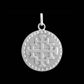 Medaille baptem Croix de Jérusalem 1