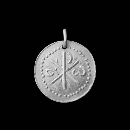 Chrisme medaille bapteme