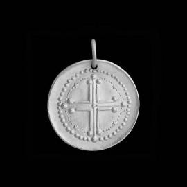 Croix sans couronne d'épines 2 argent