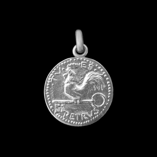 medaille de bapteme St Pierre