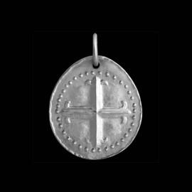 medaille de bapteme croix