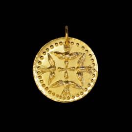 Medaille de bapteme Saint Esprit