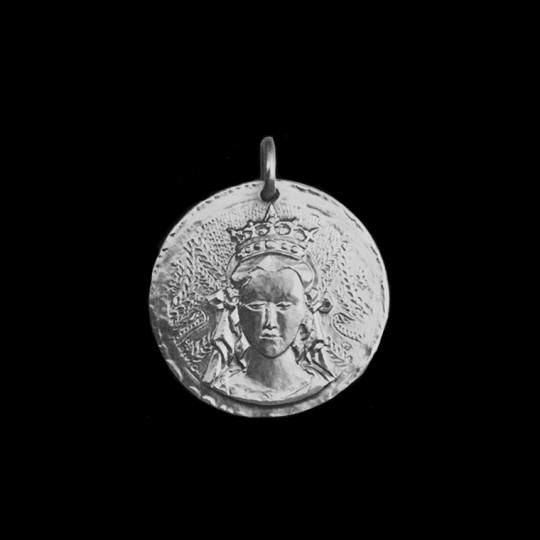 Médaille de Bapteme Vierge de Crivelli