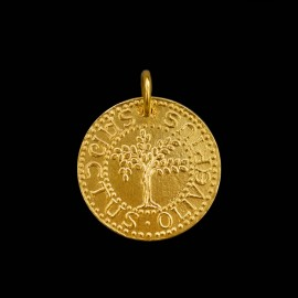 Médaille Bapteme Saint Olivier