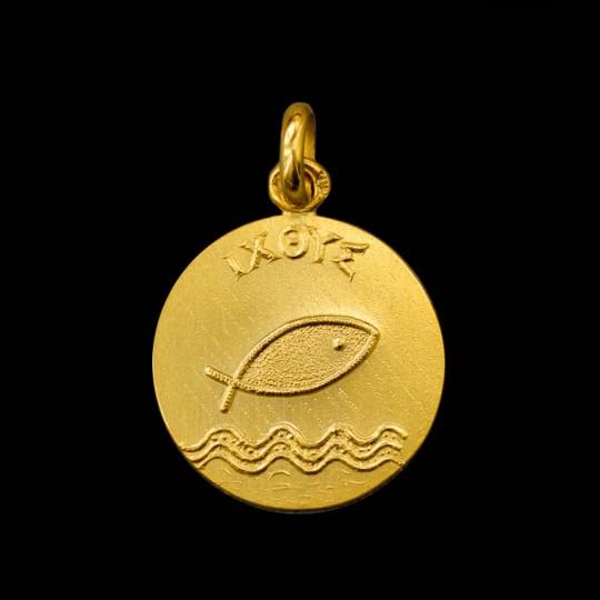 Médaille Ichthus