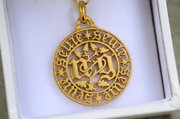 Médaille ajourée