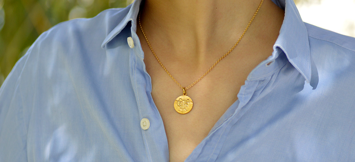 chaine collier or jaune 18k forcat ronde paris