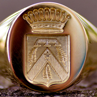 chevaliere signet ring