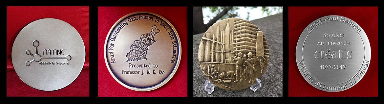 gravure machine creation medaille