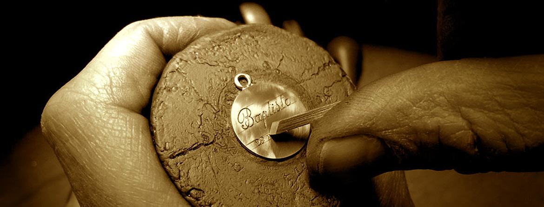gravure sur médailles