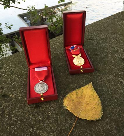 Médaille du travail écrin tradition