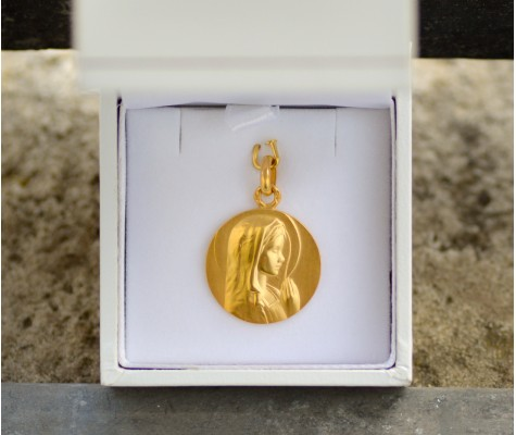 Médailles Canale - Vierge jeune priante