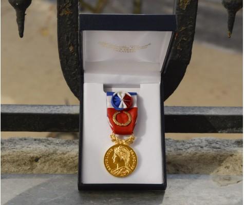 Vos médailles d'honneur du travail pour la promotion de juillet