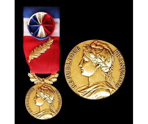 Tarifs des médailles d'honneur du travail, modèle officiel - Janvier, Février, Mars 2020 -