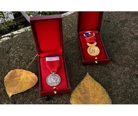 Remise de Médailles d'honneur du travail, octobre-novembre-decembre 2020 -