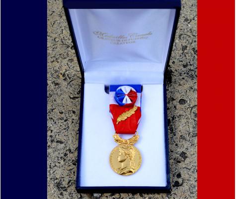Remise de fin d'année de Médailles d'honneur du travail, decembre 2020 -