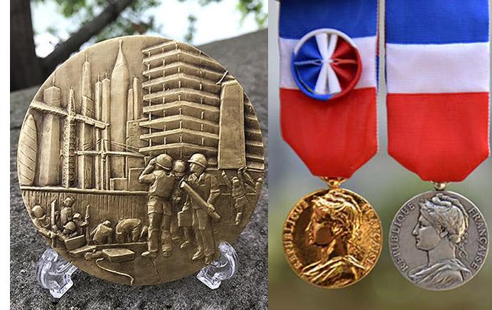Médailles entreprise