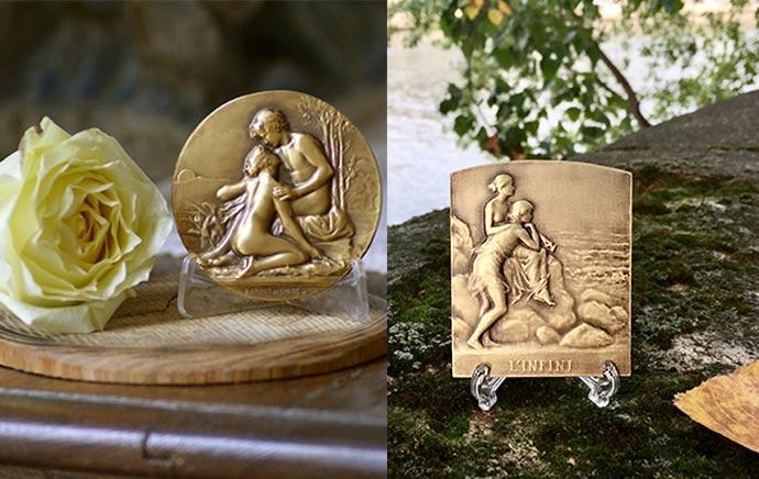 Médailles d'Art bronze