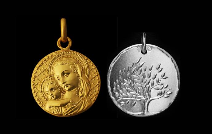 Médailles Baptême & Médailles Religieuses